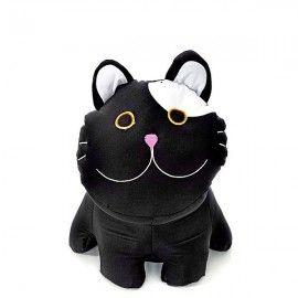 Cojin antiestres Gato negro 15 cm