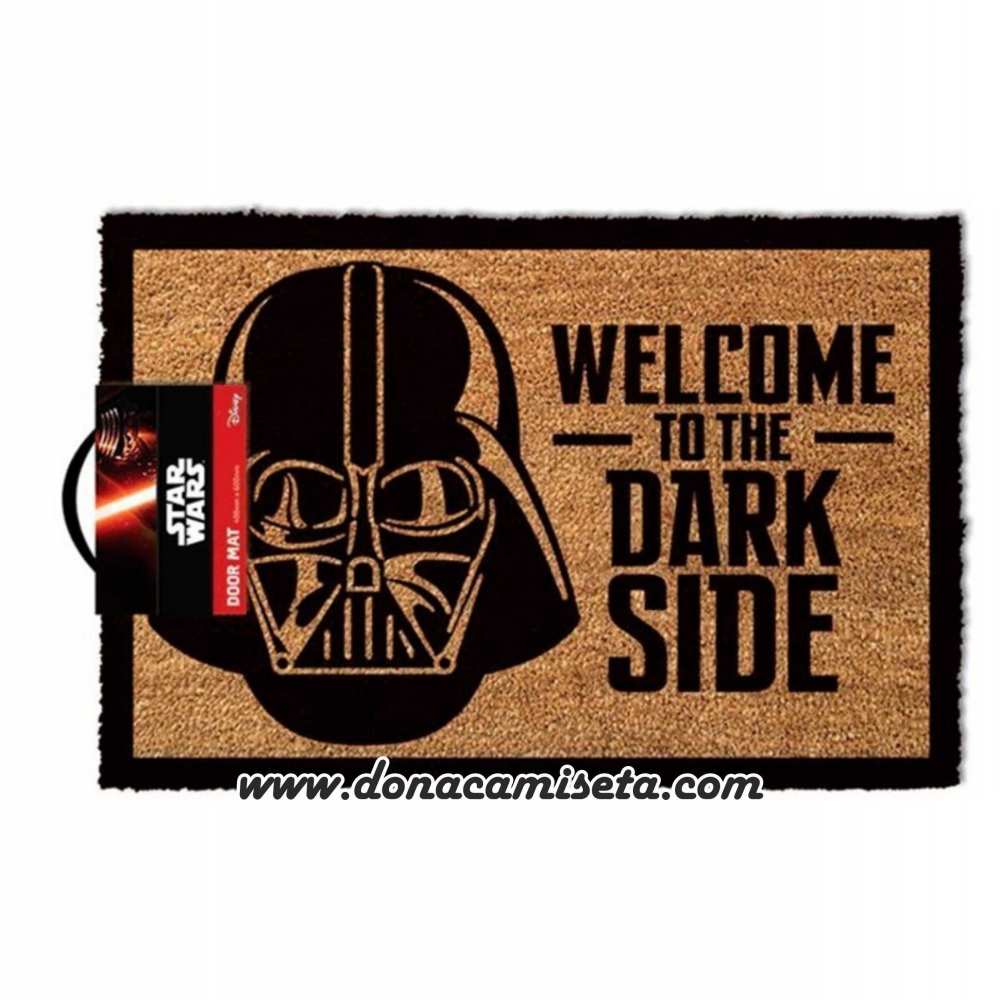 Felpudo Star Wars Vader Welcome to the dark side