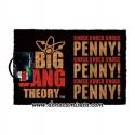 Felpudo Big Bang Theory Knock Knock Knock Penny