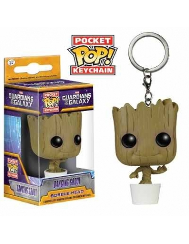 LLavero Funko Pop Dancing Groot