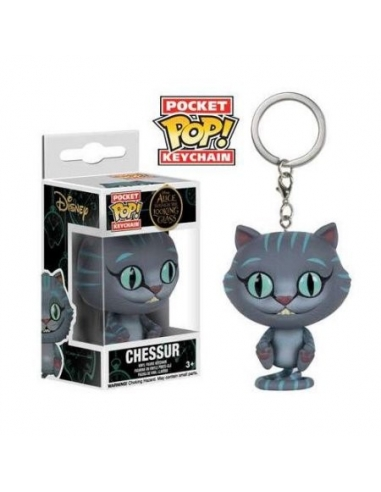 LLavero Funko Pop Alicia Gato Chessur