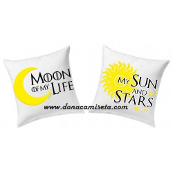Pack 2 Cojines Moon and Sun (Juego de Tronos)