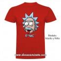 Camiseta Einstein Rick lengua