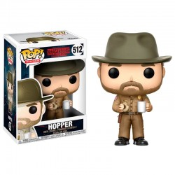 Figura Funko Pop Stranger Things Hopper 512