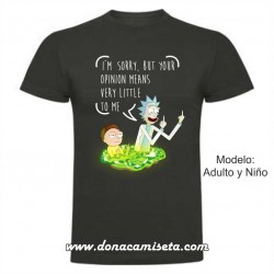 Camiseta Rick & Morty opinions
