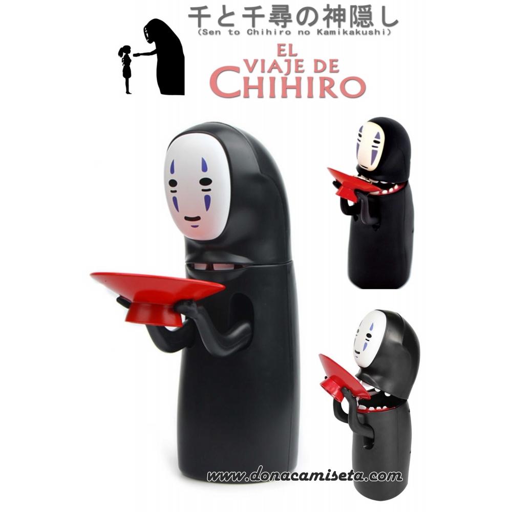 Hucha con movimiento Sin Cara El Viaje de Chihiro Tragamonedas