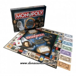 Monopoly Lord of the Rings Edición Coleccionista