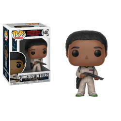 Figura Funko Pop Stranger Things Ghostbusters Lucas 548