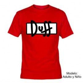 Camiseta MC DUFF logo