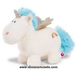 Peluche Unicornio Rainbow Flair con alas 22cm