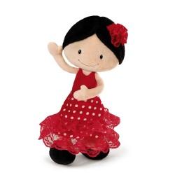 Peluche Flamenca Minicarmen wonder land 30cm nici