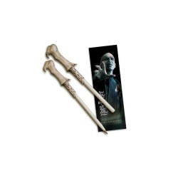 Bolígrafo Varita con Marcapáginas Lord Voldemort