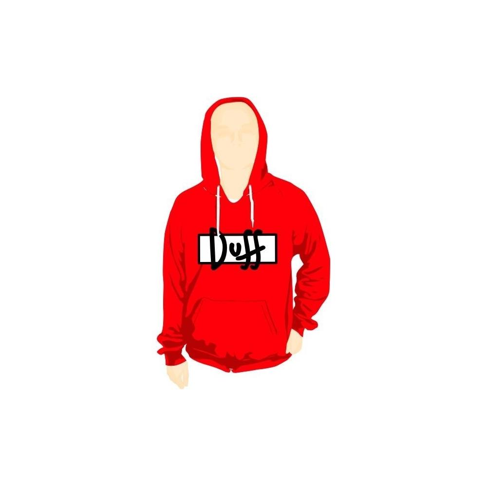 Sudadera Capucha DUFF logo