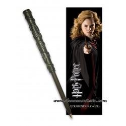 Bolígrafo Varita con Marca páginas Hermione Granger