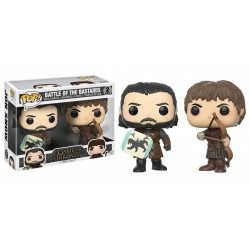 Figuras Funko Pop GOT Battle of the Bastards pack de 2