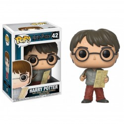 Figura Funko Pop HP Harry Potter con mapa 42