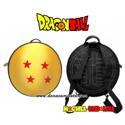 Mochila Bandolera Dragon Ball Bola 4