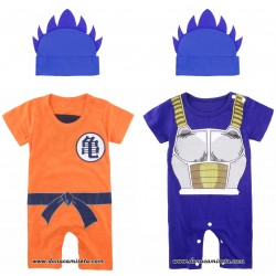 Set Body + Gorro Dragon Ball Saiyan God