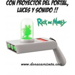 Pistola de portales Rick & Morty con luz y sonido