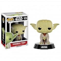 Figura Funko Pop Star Wars Dagobah Yoda 124