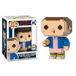 Figura Funko Pop Stranger Things Eleven 8-Bit 16