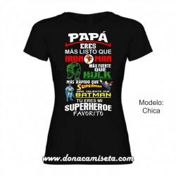 CAMISETA DIA DE LA MADRE SUPER MAMA NOMBRE NIÑ@ PERSONALIZADO REGALO CHICA MUJER