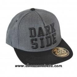 Gorra Star Wars logo 3D Dark Side visera plana premium
