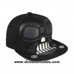 Gorra Star Wars Darth Vader casco visera plana premium