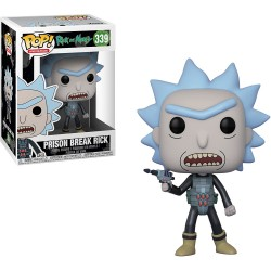 Figura Funko Pop Rick & Morty Prison Break 339