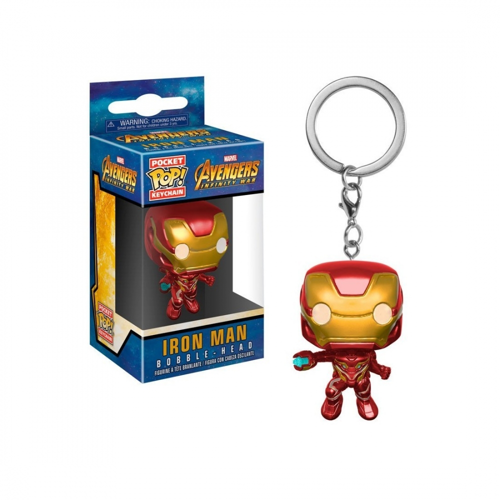 LLavero Pop Iron Man Avengers Infinity War