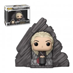 Figura Pop Juego de Tronos Daenerys on Dragonstone Throne 63