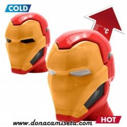 Taza mágica Iron Man 3D