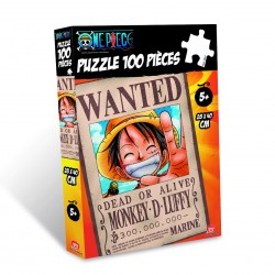 Puzzle One Piece Wanted Luffy 100 pzs
