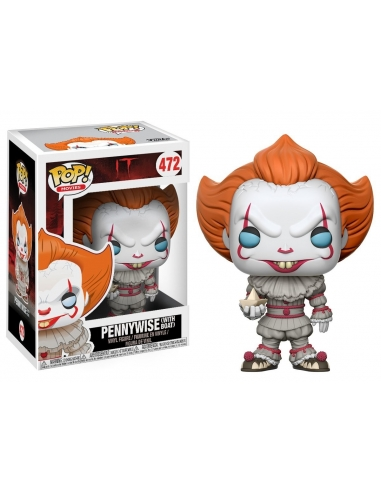 Figura Funko Pop IT Pennywise With Boat 472