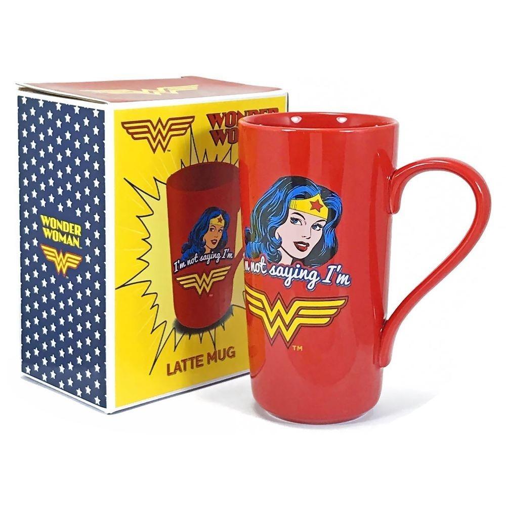 Taza Latte Wonder Woman DC Comics 500ml