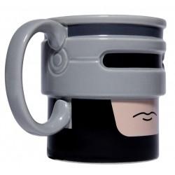 Taza 3D Robocop cara cerámica 375ml