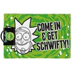 Felpudo Rick and Morty Come & Get Schwifty! 40X60cm