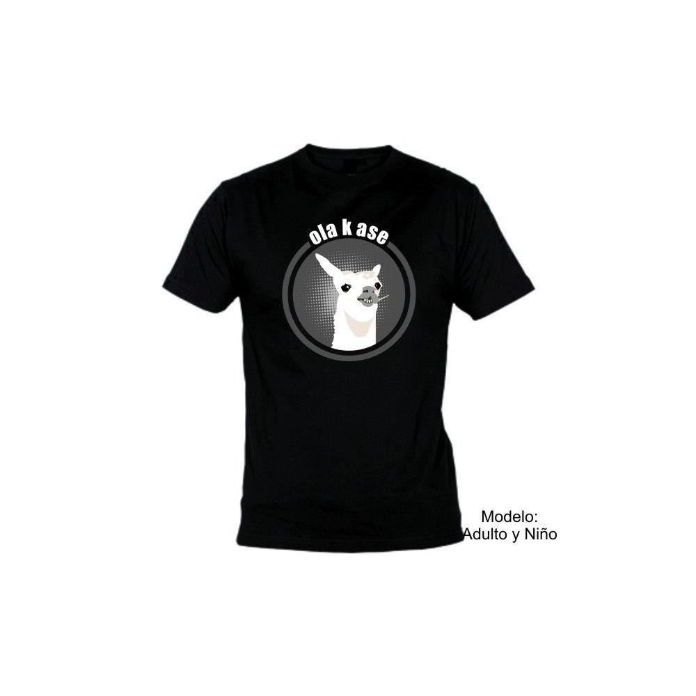 Camiseta MC Llama Ola k ase