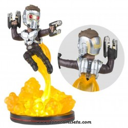 Figura Star Lord con Luz Q-Fig Guardianes de la Galaxia Vol. 2 16 cm