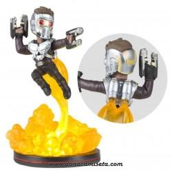 Figura Star Lord con Luz Q-Fig Guardianes de la Galaxia Vol. 2 16 cm