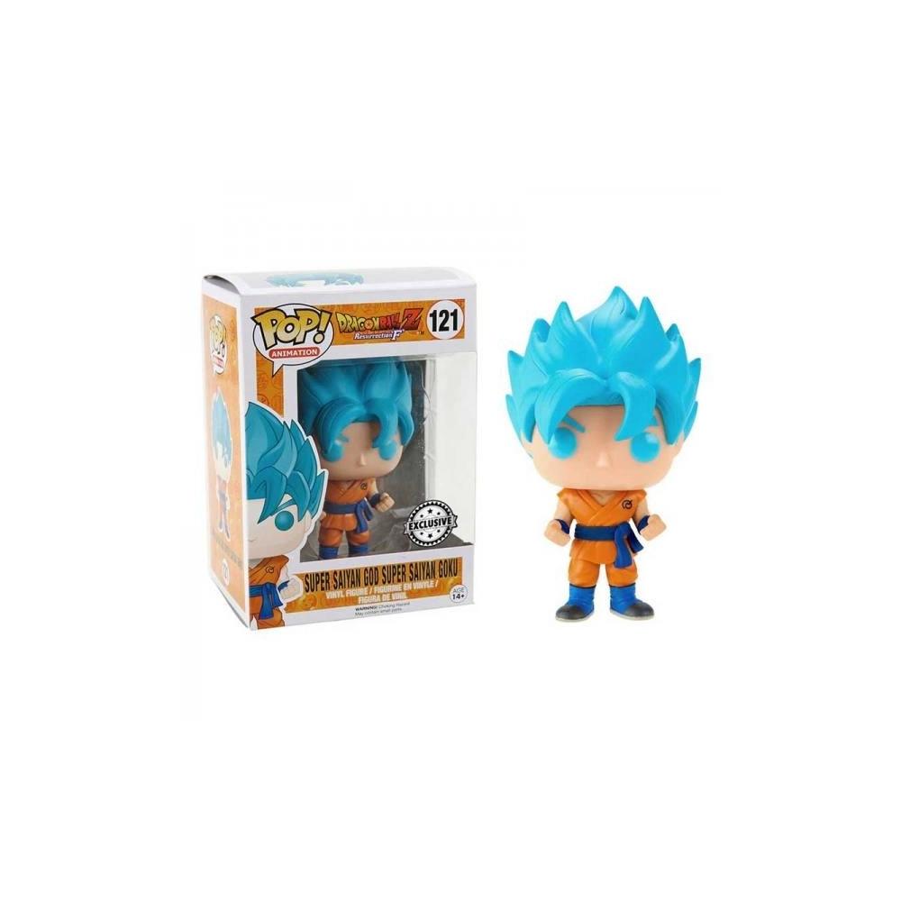 Figura Funko Pop Dragon Ball Z Goku Super Saiyan God