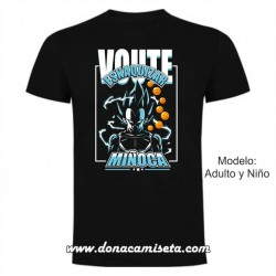 "Camiseta ""Voute esnaquizar Miñoca"""