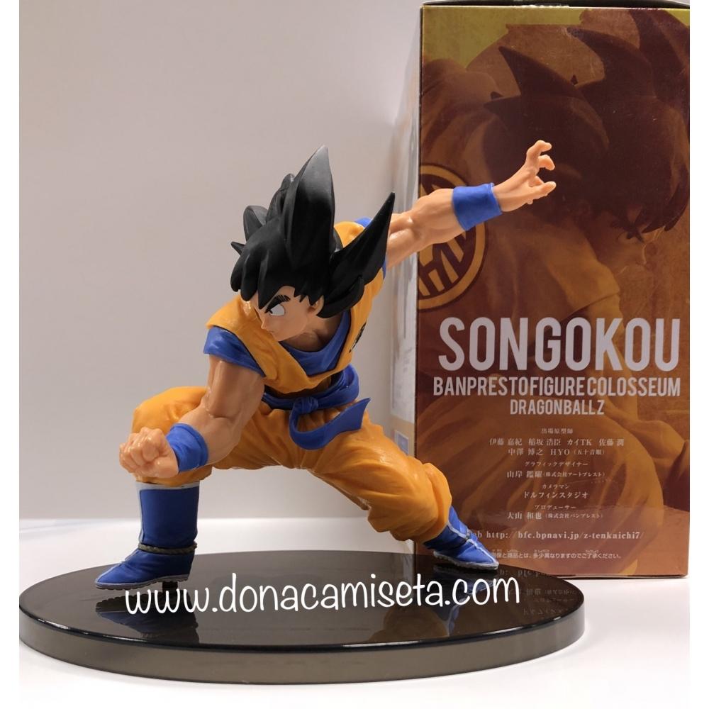 Figura Dragon Ball Z SonGoku Bampresto Museum