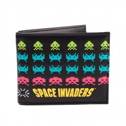 Cartera Billetera Space Invaders Retro