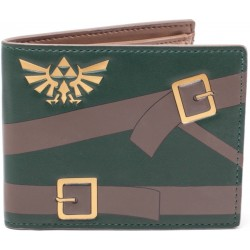 Cartera monedero Zelda logo bordado