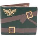 Cartera monedero Zelda logo bordado
