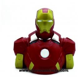 Hucha Figura Iron Man busto 3d Marvel