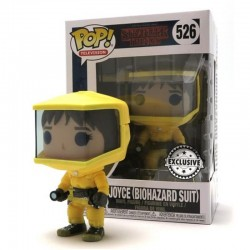 Figura Funko Pop Stranger Things Joyce Biozard Suit 526