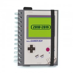 Agenda 2018-2019 Nintendo Game Boy Retro A6