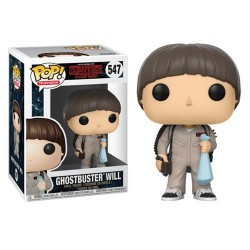 Figura Funko Pop Stranger Things Ghostbusters Will 547